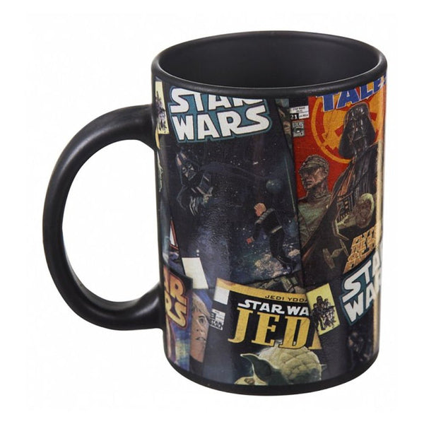Star Wars Ceramic Black Oversized Mug