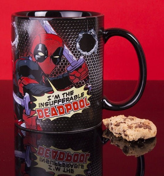 Marvel Deadpool Black Mug