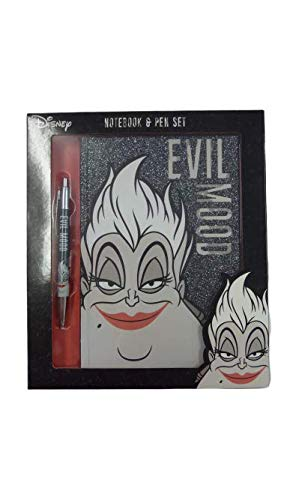 Disney Ursula Evil Mood Notebook & Pen