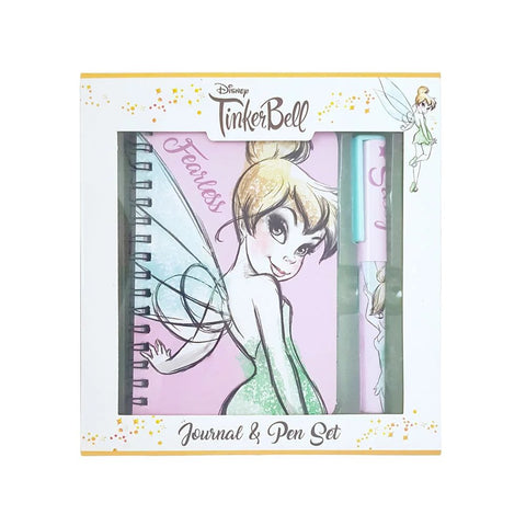Disney Tinkerbell Notepad & Pen Set A6