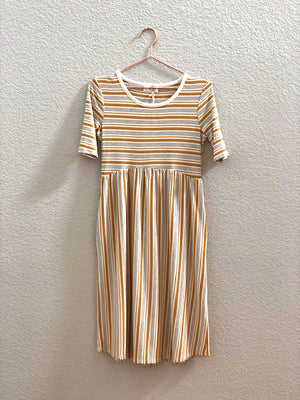 Eleanora Striped Dress