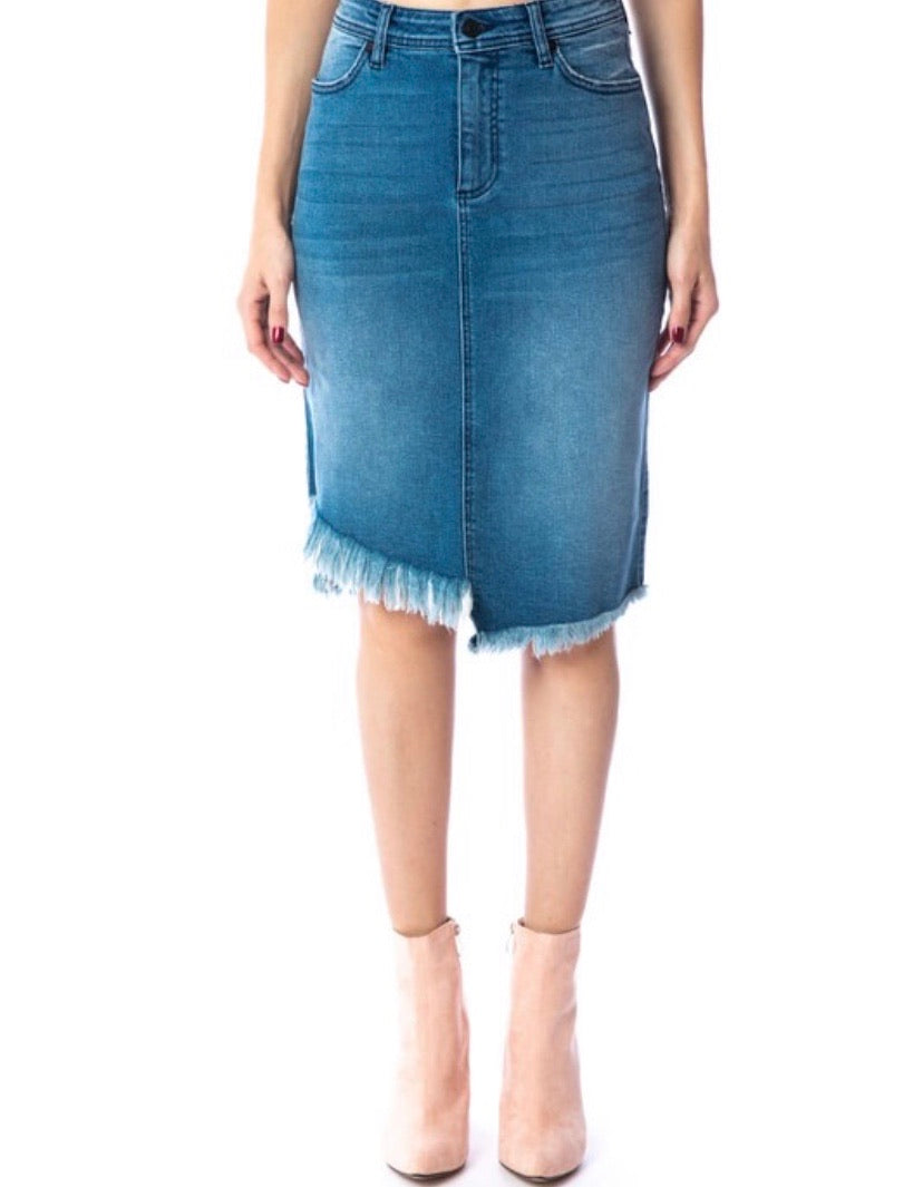 Aubrey Denim Skirt