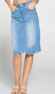 Harper Denim Skirt