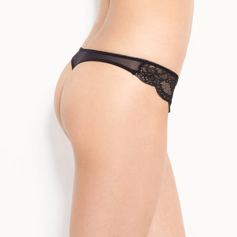 Rough & Tumble Lace Front Thong