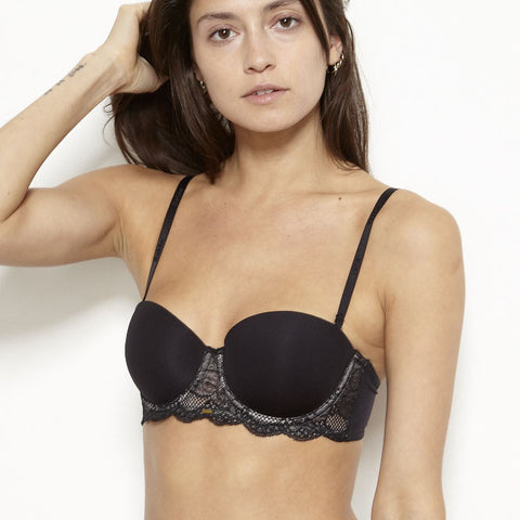 Rough & Tumble Strapless Convertible Balconette Bra - BeMe NYC