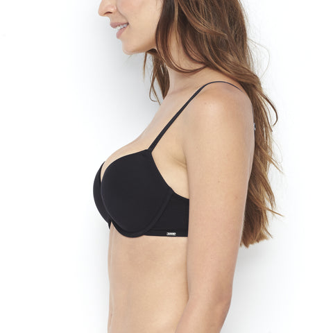 Basic Plunge Light Push Up Bra