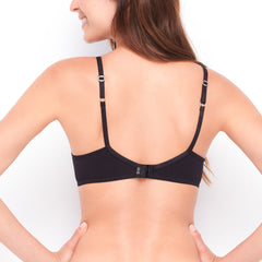 Basic Wire-Free Light Push Up Bra - BeMe NYC