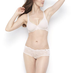 Rough & Tumble Lace Unlined Demi Bra - BeMe NYC