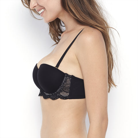 Rough & Tumble Strapless Convertible Balconette Bra