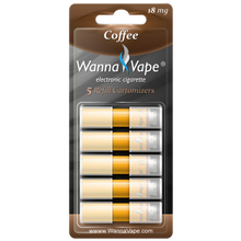 eCigarette Coffee Cartridges
