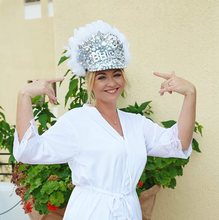 Load image into Gallery viewer, Bling Bride Hat