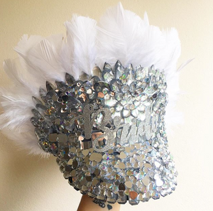 Bling Bride Hat