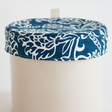 Cotton crock top - Blue floral fabric.