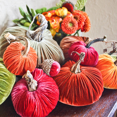 Plush Pumpkin Assortments