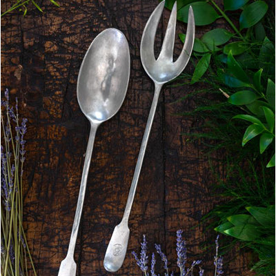 Match Pewter Ladles & Sauce Spoons