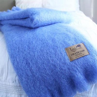Lands Downunder Mohair Throws