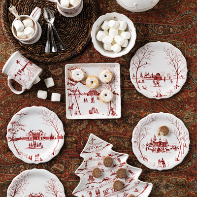 Juliska Country Estate Winter Frolic Ruby Collection