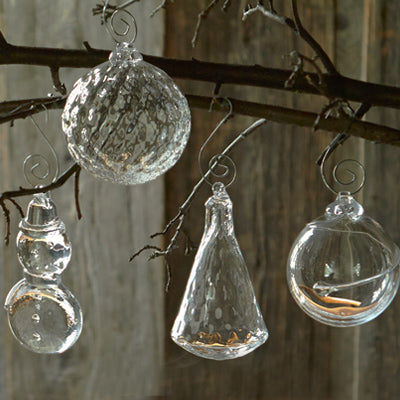 Simon Pearce Ornaments