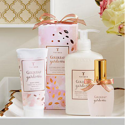 Thymes Goldleaf Gardenia Collection