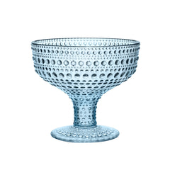 Iittala Kastehelmi Light Blue Footed Bowl