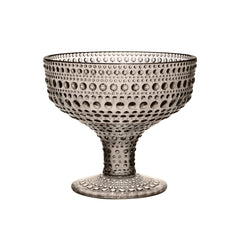Iittala Kastehelmi Sand Footed Bowl