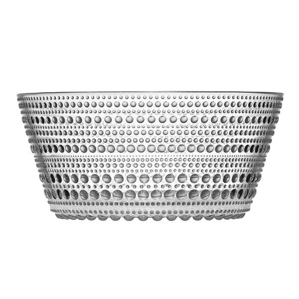 Iittala Kastehelmi Clear Serving Bowl