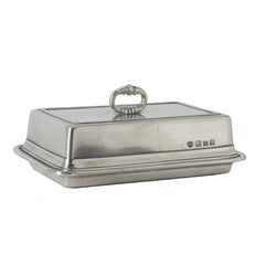 Match Double Butter Dish W/Cover