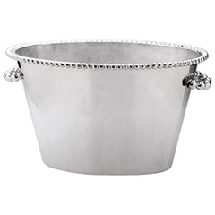 Mariposa Brillante Pearled Double Ice Bucket