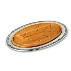 Match Oval Carving Platter W/Insert