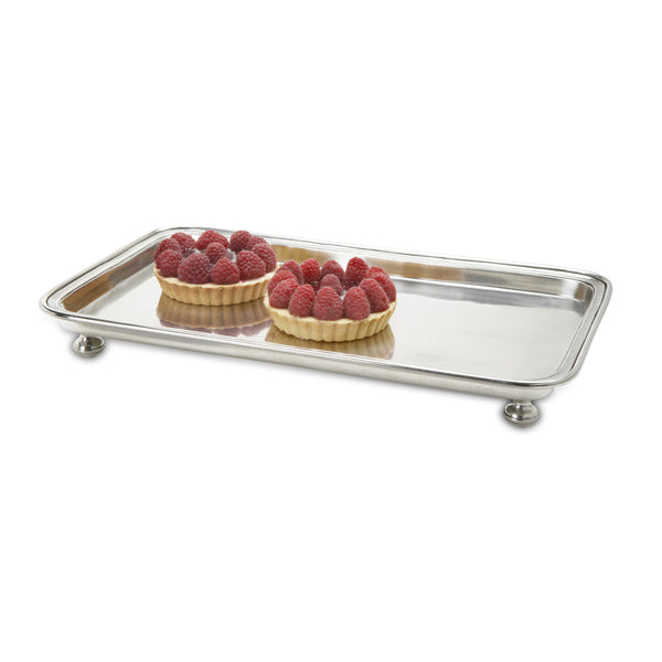 Match Footed Rectangle Service Tray