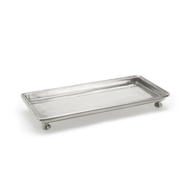 Match Footed Rectangle Service/Vanity Tray