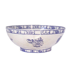 Gien Oiseau Bleu Open Vegetable Bowl