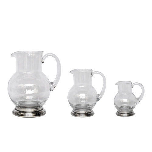 Match GLASS PITCHER, 1/4 LITRE