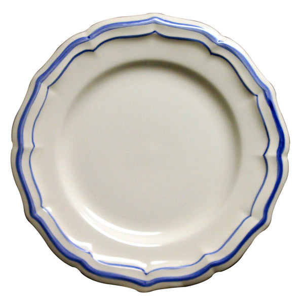 Gien Filet Bleu S/4 Dinner Plates