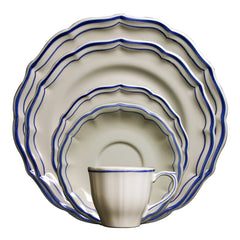 Gien Filet Bleu 5pc Placesetting