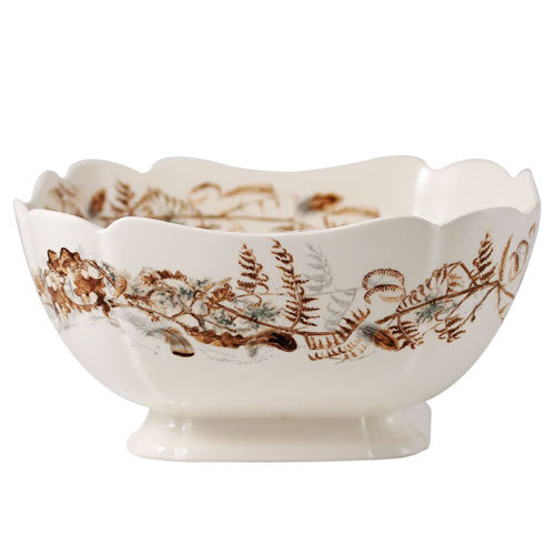 Gien Sologne Foliage Vegetable Bowl