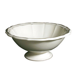Gien Filet Taupe Open Vegetable Bowl