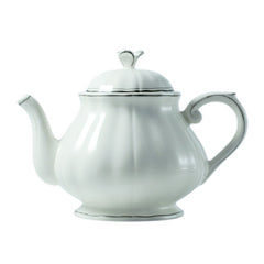 Gien Filet Taupe Teapot