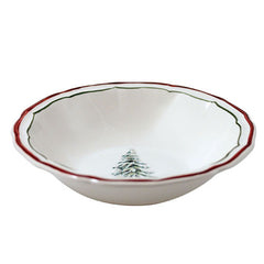 Gien Filet Noel S/4 Cereal Bowls