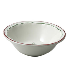 Gien Filet Noel S/2 Ex.Large Bowls