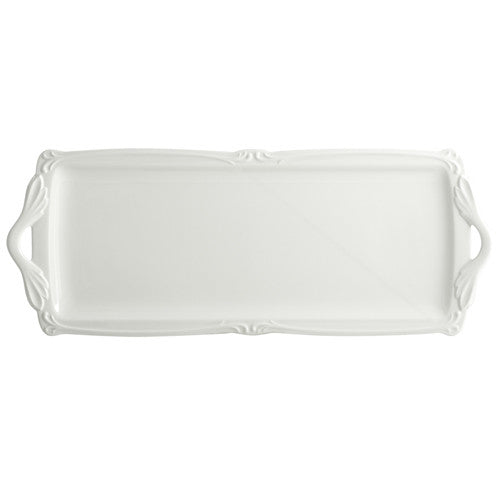 Gien Rocaille Blanc Oblong Serving Tray