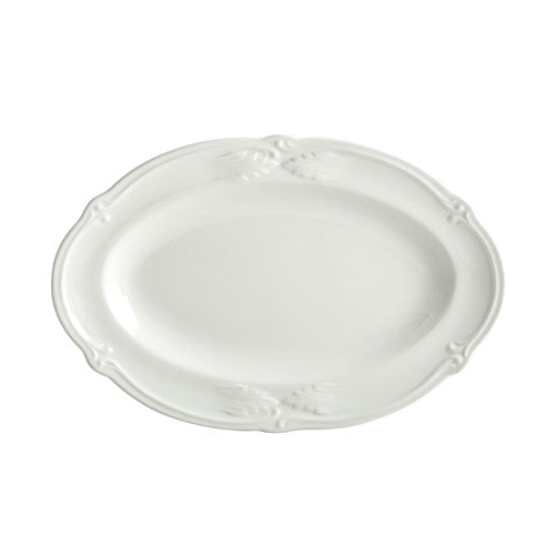 Gien Rocaille Blanc Pickle Dish