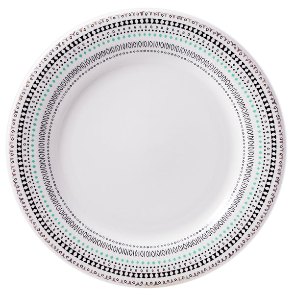 Gien Coquettes S/4 Dinner Plates