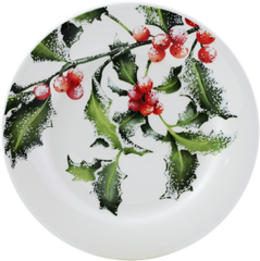 Gien Holly Canape Plate