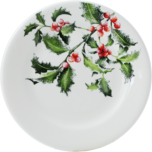 Gien Holly Dessert plate