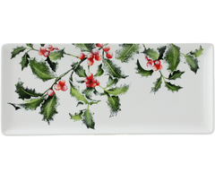 Gien Holly Oblong Serving Tray