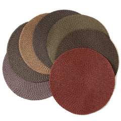 Deborah Rhodes Colored Two-Tone Twist Triple Braid Placemats (set of 6)