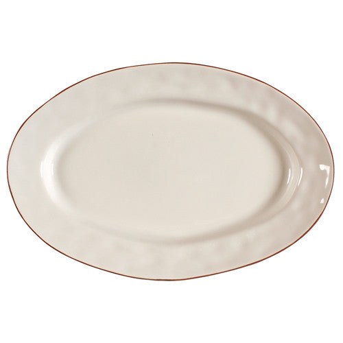 Skyros Cantaria Ivory Small Oval Platter