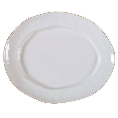 Skyros Cantaria White Large Oval Platter
