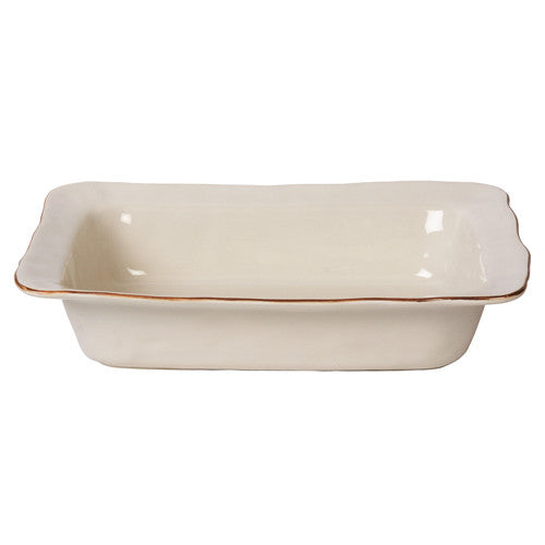 Skyros Cantaria Ivory Medium Rectangular Baker